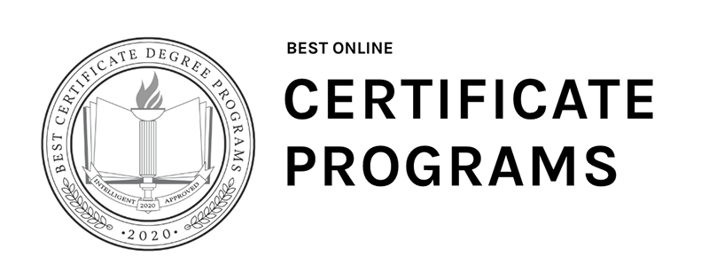 Intelligent.com's logo for best online certificate programs