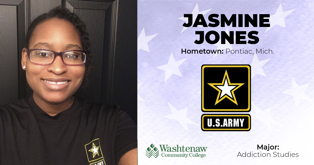 Jasmine Jones, US Army